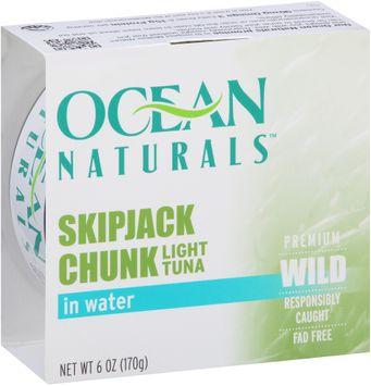 Ocean Naturals™ Skipjack Chunk Light Tuna in Water
