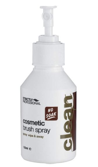 Strictly Professional Cosmetic Brush Spray Eliminates Bacteria Build Up