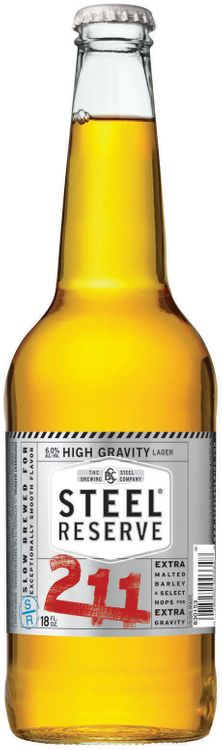 The Steel Brewing Company Steel® Reserve 211 High Gravity Malt Lager