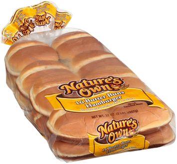 nature's own® butter hamburger buns
