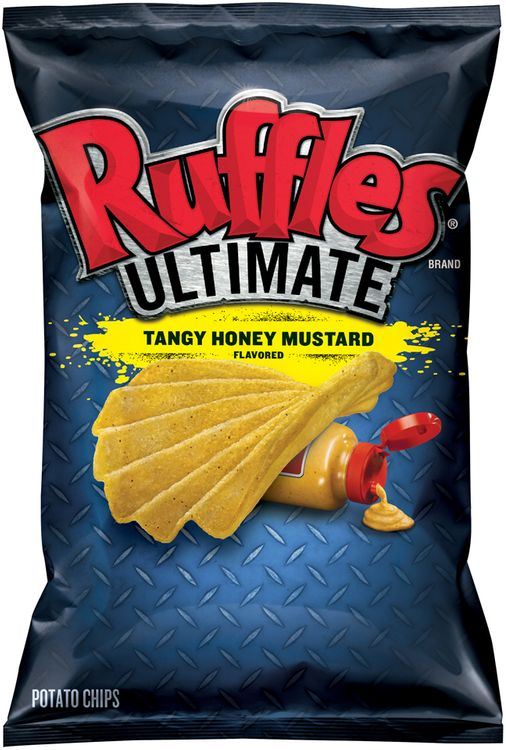 Ruffles® Ultimate Tangy Honey Mustard Flavored Potato Chips