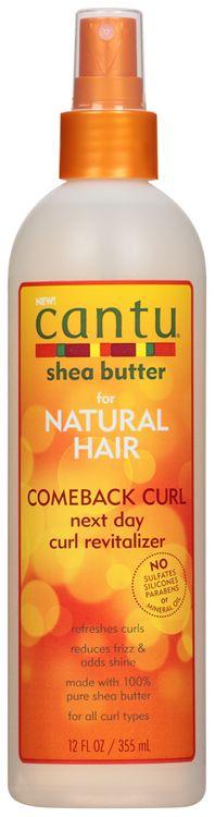 cantu® shea butter comeback curl next day curl revitalizer,