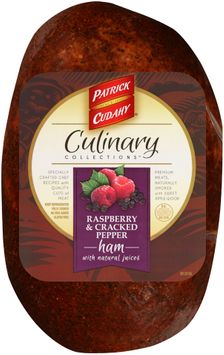 Patrick Cudahy® Culinary Collections™ Raspberry & Cracked Pepper Ham with Natural Juices