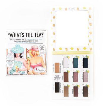 the Balm® What's The Tea?® Ice Tea Eyeshadow Palette