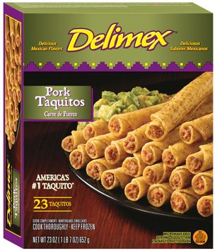 Delimex® Pork Taquitos 23 ct Box