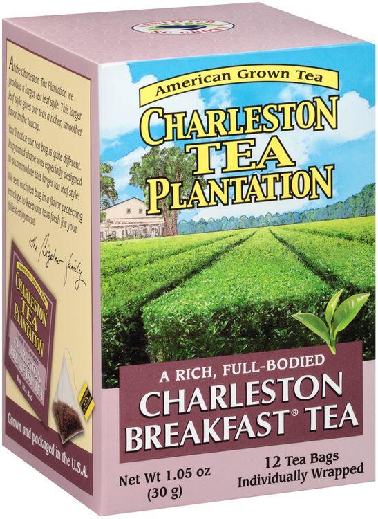 Charleston Tea Plantation Charleston Breakfast® Tea 12 ct Box
