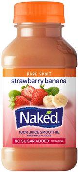 Naked Juice Strawberry Banana Juice Smoothie