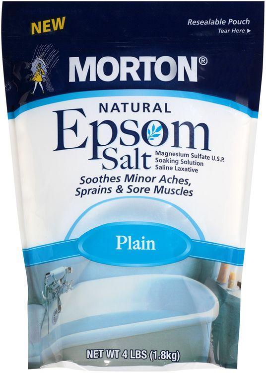 morton® natural epsom salt plain