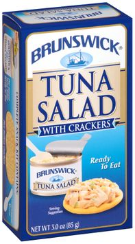 Brunswick® Ready to Eat Tuna Salad with Crackers