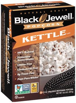 Black Jewell® Kettle Microwave Popcorn s