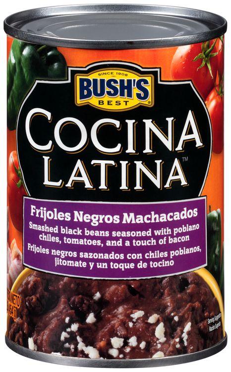 Bush's Best® Cocina Latina™ Frijoles Negros Machacados