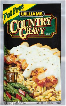 Williams Fat Free Country Gravy Mix