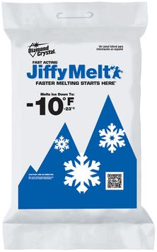 diamond crystal® jiffy melt fast acting ice melter
