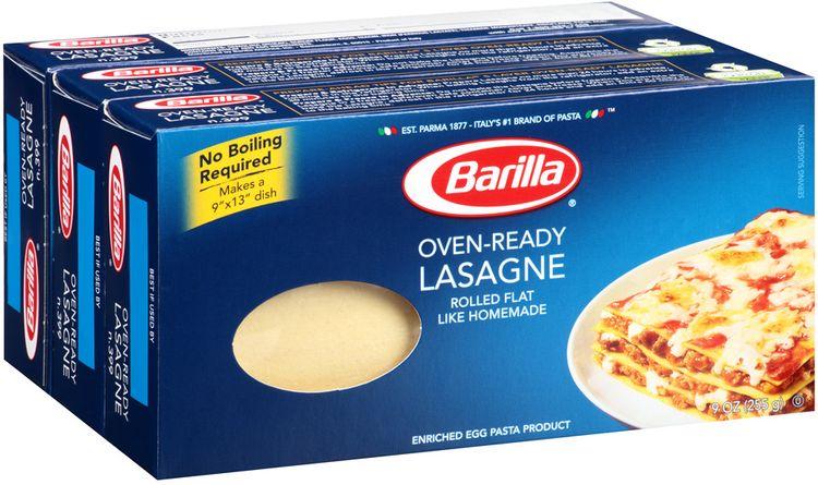 Barilla® Oven-Ready Lasagne