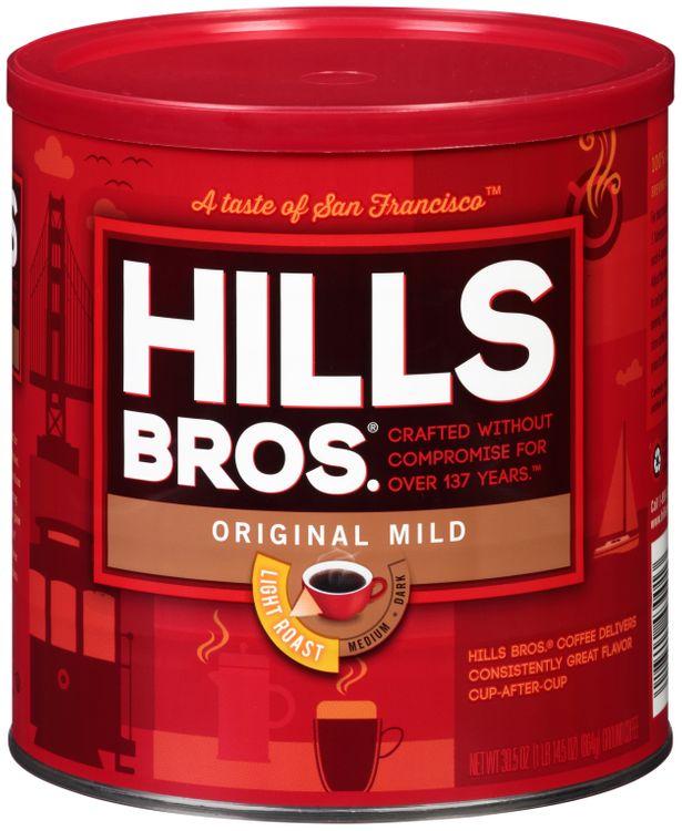 Hills bros® Original Mild Ground Coffee
