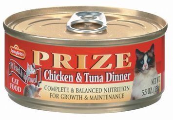 Springfield Prize Chicken & Tuna Dinner Cat Food