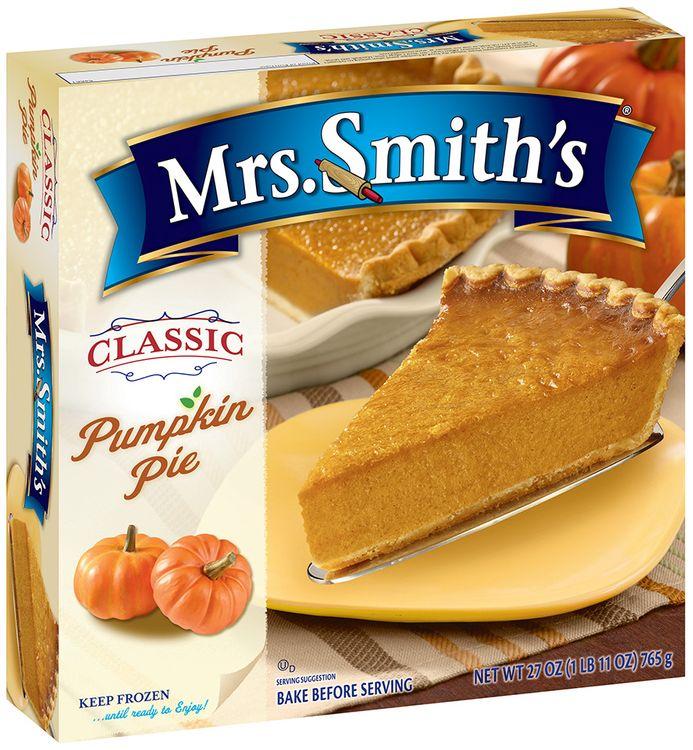 mrs Smith's® Classic Pumpkin Pie