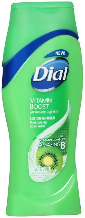 Dial® Vitamin Boost Lotion Infused Moisturizing Body Wash