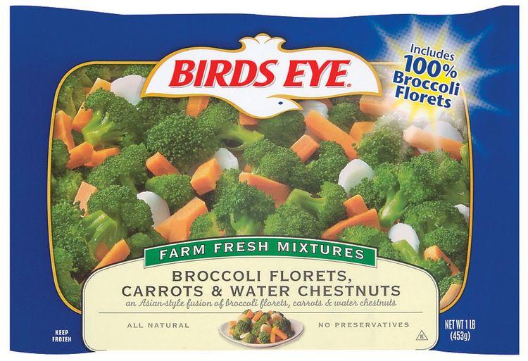 Birds Eye® Broccoli Florets, Carrots & Water Chestnuts