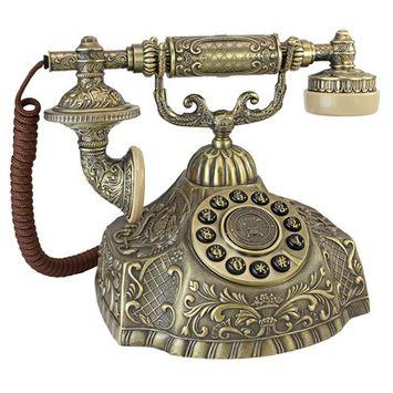 Design Toscano 1932 Reproduction Grand Empress Telephone