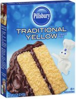 Pillsbury Traditional Yellow Cake Mix
