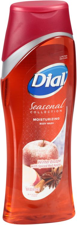 Dial® Seasonal Collection Winter Escape with Spiced Red Apple Moisturizing Body Wash