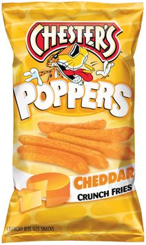 chester's® poppers cheddar crunch fries