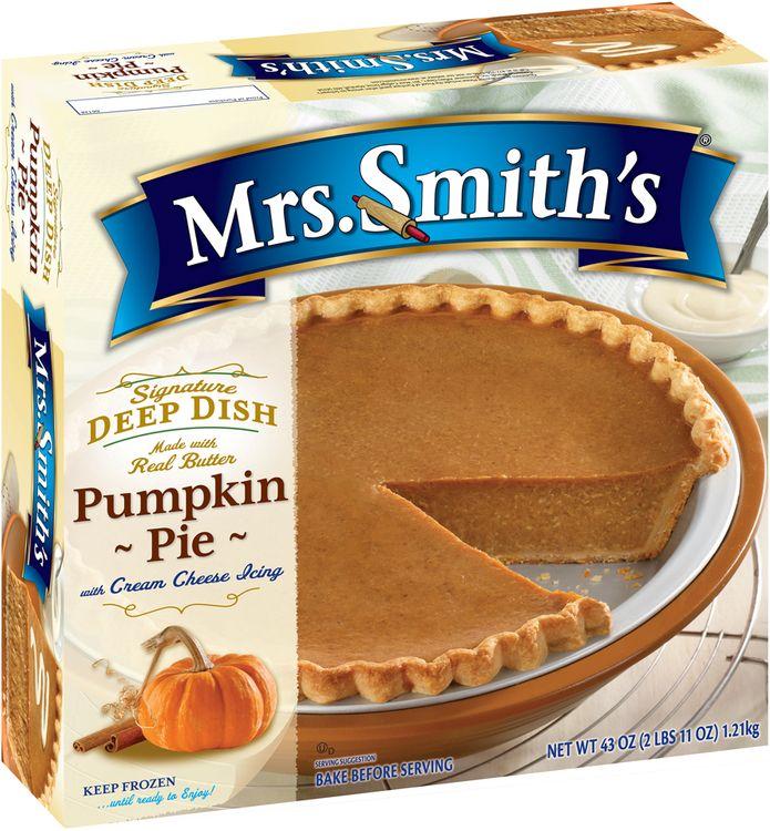 mrs Smith's® Deep Dish Pumpkin Pie
