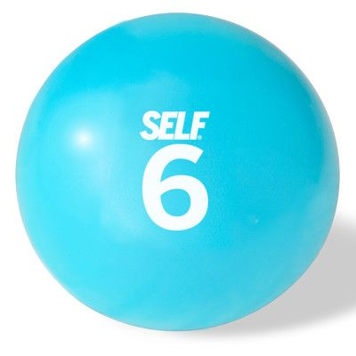"""Self Fitness 6.1"""" Soft Weighted Ball"""