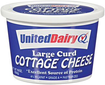 United Dairy® Large Curd Cottage Cheese
