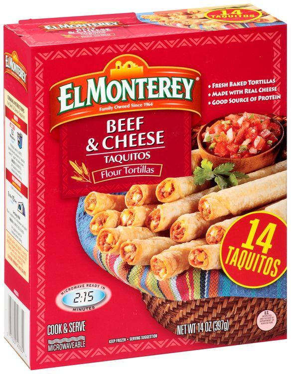 El Monterey® Beef & Cheese Taquitos