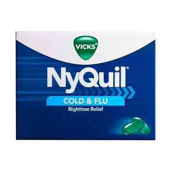 Vicks® NyQuil™ Cold & Flu Nighttime Relief LiquiCaps™