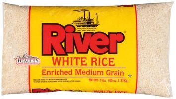 river® white enriched medium grain rice
