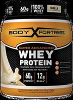 Body Fortress Super Advanced Whey Protein Powder - Vanilla