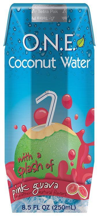 one™ Coconut Water Beverage with a Splash of Pink Guava