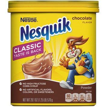 Nesquik Chocolate Flavor Powder Drink Mix
