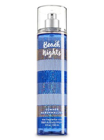 Bath & Body Works® Signature Collection BEACH NIGHTS SUMMER MARSHMALLOW Fine Fragrance Mist
