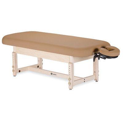 Earthlite Sedona Stationary Table with Shelf Color: Rose Quartz