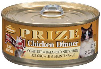 Springfield Prize Chicken Dinner Cat Food