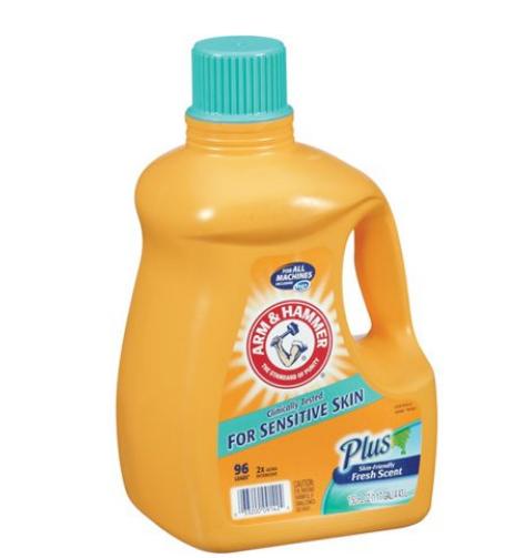 ARM & HAMMER™ Liquid Laundry Detergent Sensitive Skin Plus Skin-Friendly Fresh Scent HE Compatible