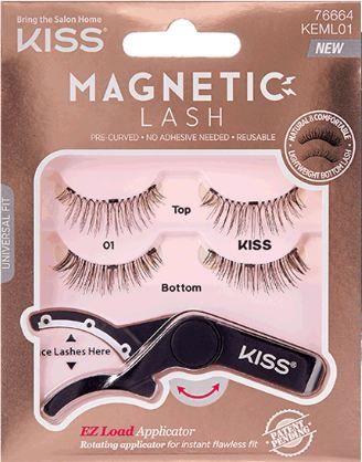 KISS® Magnetic Lash KEML01 with EZ Load Applicator