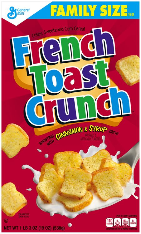French Toast Crunch Cereal