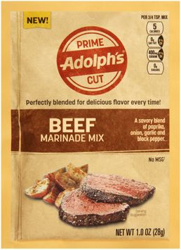 Adolph's® Prime Cut Beef Marinade Mix