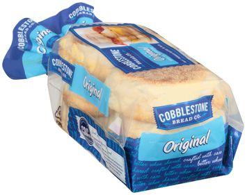 Cobblestone Bread Co.™ Original English Muffins 6 ct Bag