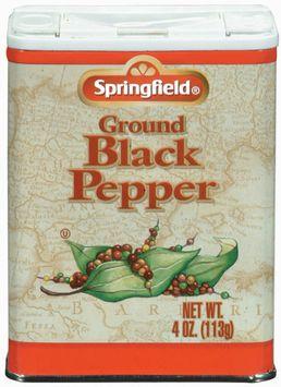 Springfield Ground Black Pepper