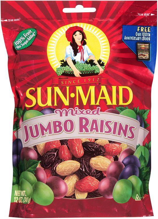 sun-maid® mixed jumbo raisins