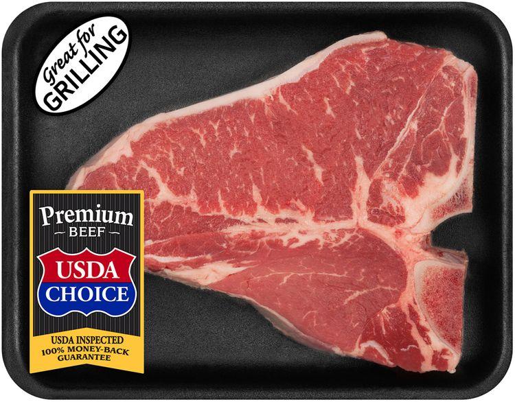 Tyson Beef Choice T-Bone Steak