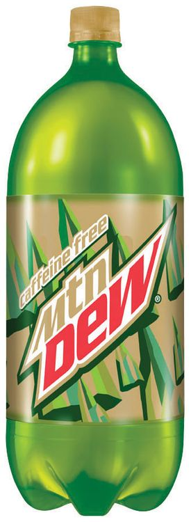 Caffeine Free Mountain Dew® 2L Plastic Bottle