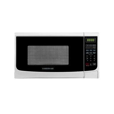 Farberware Classic 0.7 Cu. Ft. 700W Countertop Microwave Oven in White