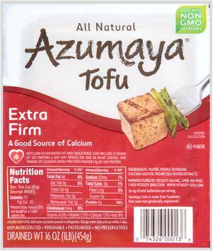 Azumaya® Extra Firm Tofu